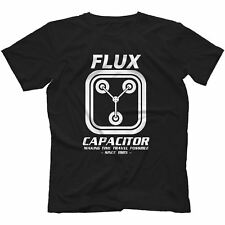 Flux Capacitor Back To The Future T-Shirt 100% Cotton Delorean Marty