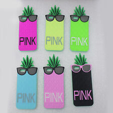 """4.7"""" Cute Victoria's secret Silicone Cell phone Case Pineapple Cover for iPhone6"""