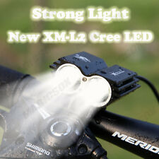 Solarstorm XM-L2 Cree LED X2 Front Cycling Sport Bicycle Light Bike Lights Set