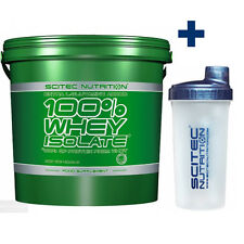 Scitec Nutrition 100% Whey Isolate 8.81 Lbs With L-Glutamine + Shaker