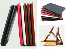 KAKU Retro Flip Lines Cover for Apple iPad Tablet Leather Case Stand Accessory