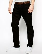 Narrow Fit Jeans For Men Black Colour