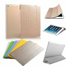 Magnetic Leather Skin Cover With Hard Back Case Cover For Apple iPad mini mini2