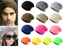 New Unisex Womens Men Knitted Knit Winter Warm Ski Crochet Slouch Hat Cap Beanie