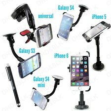 Car Windshield Suction Cup Mount Rotating Stand Holder Universal For Phones GPS
