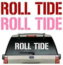 ****BUY 2,GET 1 FREE****ROLL TIDE CAR DECAL VARIOUS SIZE & COLOR  STICKER  FLAG