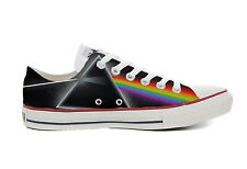 Scarpe sneakers Converse All Star Pink Floyd Dark Side of the Moon, vari numeri