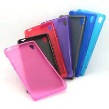 Ultra thin TPU Rubber Silicone Gel Case Cover Skin For Sony Xperia Z3