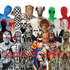 KIDS HALLOWEEN MORPHSUIT CHILDS COSTUME BOYS GIRLS MORPHSUITS ZOMBIE MONSTERS