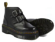 Dr. Martens DEVON Women's Aggy Style Black Smooth Boot ALL SIZES!!!