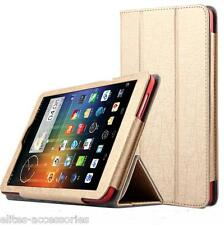 Premium Flip Case Cover for Dell Venue 8 Android Tablet (Exclusive Gold)