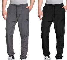 New Mens Nike Woven Pants Tracksuit Jogging Bottoms Joggers - Black