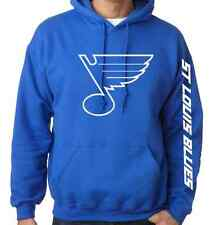St Louis Blues Hooded Sweatshirt Hockey Adult and Youth Sizes