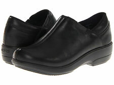 New Womens Crocs Work Chelea Casual Leather Clog Loafer Shoes SZ 6 7 8 9