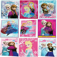 OFFICIAL DISNEY FROZEN BLANKET THROW FLEECE PRINCESS ELSA ANNA OLAF