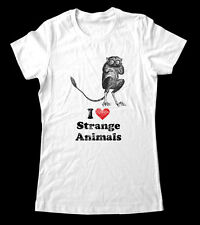 I Love Strange Animals Tersier T-Shirt Women and Men