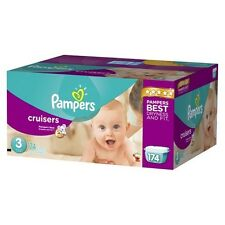 Pampers Cruisers Diapers Economy Plus Pack (Select Size)