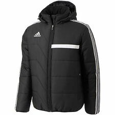 Men's New Adidas Tiro13 Padded Coach Jacket Coat - Black - Winter Managers Warm