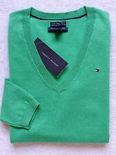 NWT TOMMY HILFIGER WOMENS CLASSIC V-NECK SWEATER