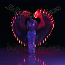 Mega SALE!! Belly Dance Led Light Isis Wings, Belly Dance Costumes, Led Wings A4