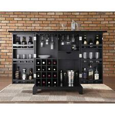 Wine Liquor Storage Bar Cabinet Home Furniture Kitchen Wood Rack Bottle Pub NEW