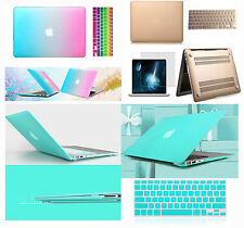 """Hot Sell Rubberized case keyboard cover For Macbook Pro Air Retina 11 12 13 15"""""""