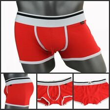 New Cotton+Modal XUBA Trunks Sexy Underwear Men's Boxer Briefs Shorts Red CITI