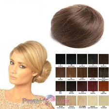 Clip in Drawstring Messy Bun Top Knot Updo Various Colours