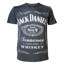 JACK DANIELS WHISKEY OFFICIAL PRINTED T-SHIRT