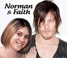 Your picture on a custom T shirt with Norman Reedus! Walking Dead Daryl Dixon