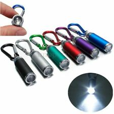 CREE ULTRA BRIGHT LED CAMPING FLASHLIGHT Mini Light Torch Keyring Keychain