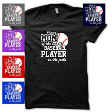 CUTE BASEBALL PLAYER MOM mothers day funny jersey JUNIORS BABYDOLL T-SHIRT