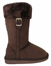 Womens Boots Mid Calf Australian Classic faux Shearling winter warm Black soon