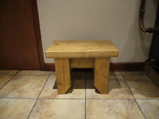 CHILDRENS/KIDS WOODEN STOOL-SEAT-CHAIR
