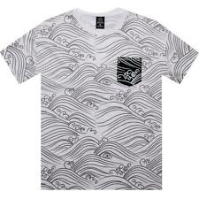 Crooks and Castles Waves Tee (white) CC730715WHT