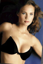 Tatiana T-181 Clear Strap Smooth Cup Push Up Bra Black Sizes 32A-38E NWT