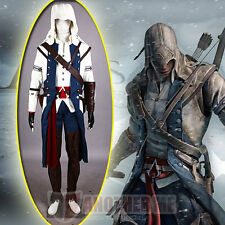 Another Me Assassin's Creed III Connor Kenway Cosplay Costume Outfit Set