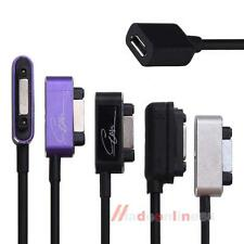 Magnetic To Micro USB Female Adapter Cable For Sony Xperia Z2 Z1 Z3 Compact Mini