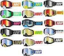 2015 100% Racecraft Adult Motocross ATV Offroad MX Goggles with Tear Offs