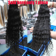 None-Shipping 100g Deep wave curly 100% Brazilian Human hair extension 14'~28''