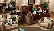 Quilted Sofa Furniture Protector 100% Polyester Water Resistant Pets Kids