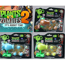 1 Pcs Plants vs. Zombies 2 Figure Coconut Cannon Peashooter Snow Pea Figures