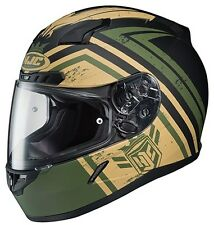 New 2015 HJC CL-17 Mech Hunter Street Motorcycle ATV Helmet Snell Rated CL17