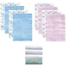 Luvable Friends 4-Pack Cloth Diapers