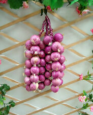 artificial string Onion faux fruit fake onions for house kitchen party purple