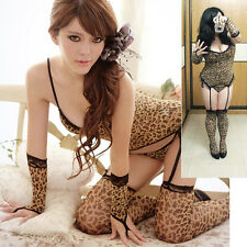 3X Large Leopard Print Camisole Sets / To Be A Sexy Pussycat Dolls Sex Drive