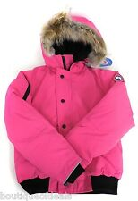 Canada Goose Youth Rundle Bomber Jacket Summit Pink 7995Y New & Authentic