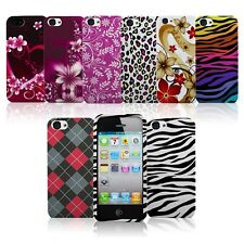 Printed Color Hard Rubberized Snap On Case Phone Cover for Apple iPhone 5 5S 5G