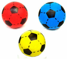 20cm RED / BLUE / YELLOW Foam Football PICK YOUR COLOUR