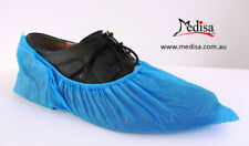 Disposable Plastic Shoe Covers Overshoes Waterproof Pkt of 50/100 Pairs